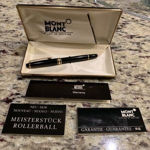 Montblanc Meisterstuck Rollerball pen